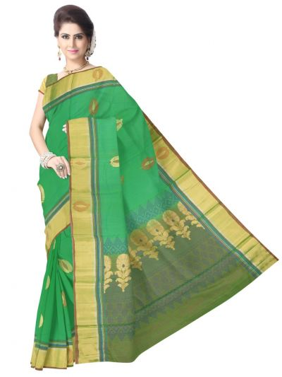 Chamelli Exclusive Kora Cotton Saree - LLD6816263
