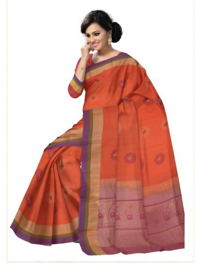 Chamelli Exclusive Kora Cotton Saree - LLD6816265