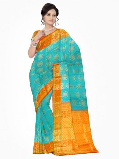 Vivaha Kanchipuram Pure Silk Saree - MAA0390817