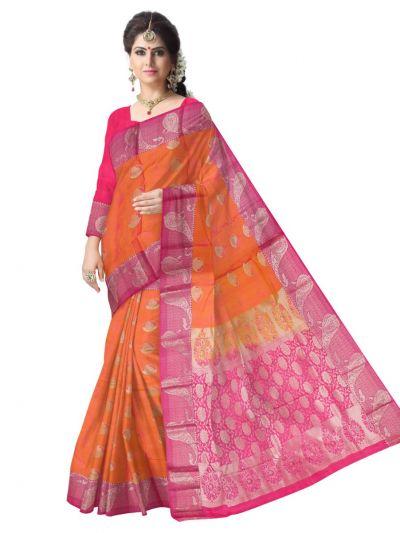 Vipanji Traditional Uppada Silk Saree