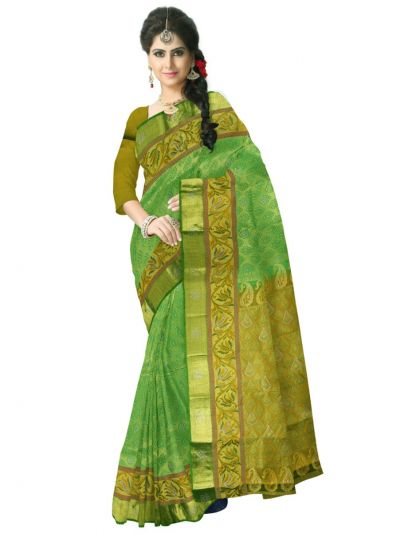 Vivaha Wedding Stone work Silk Saree - MAB0654339
