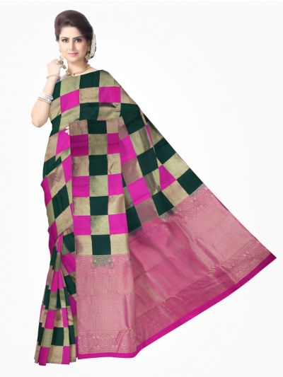 Traditional Silk Saree MultiColor - MAB0768603