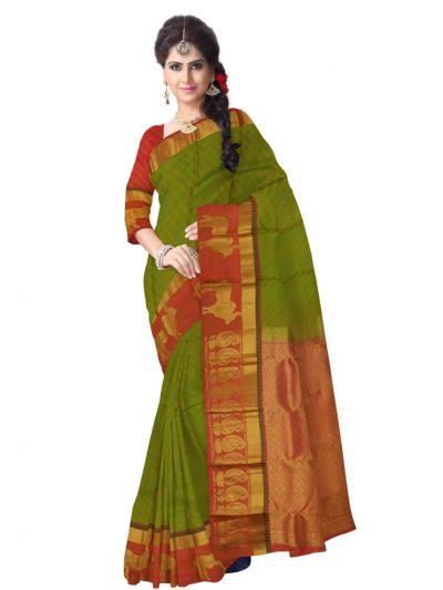 MAB0848150-Traditonal Silk Saree