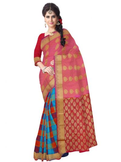 Art Multi Silk Saree