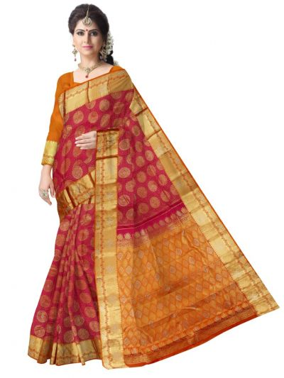 Vivaha Wedding Stone Work Silk Saree - MAB1150061