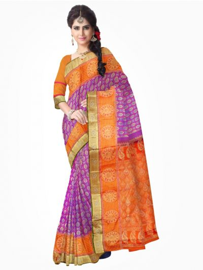 Kanchipuram Stone work Silk Saree - MAB1150070