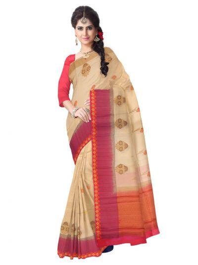 Sahithyam Exclusive Dupion Silk Saree