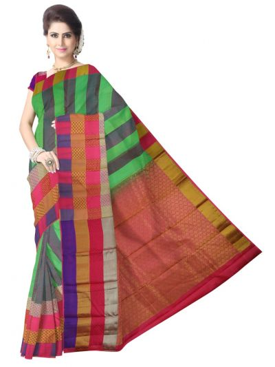 Traditional Silk Saree - MAC2044078