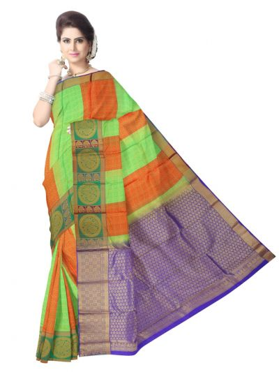 Bairavi Traditional Silk Saree - MAC2044090