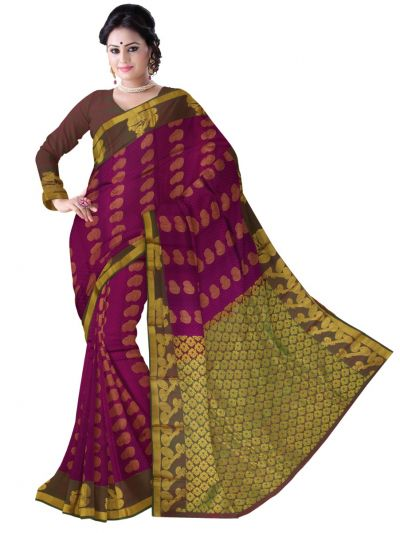 Bairavi Traditional Silk Saree-MAC2693332
