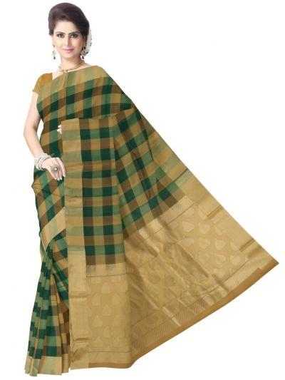Chamelli Exclusive Kora Silk Cotton Saree