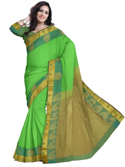 Art Green Silk Saree
