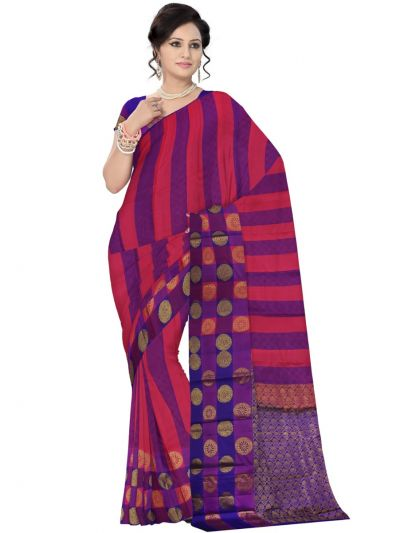 Traditional Silk Saree - MAD3555890