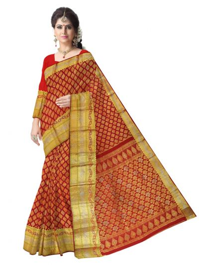 MAE4159280 - Vivaha Stonework Silk Saree