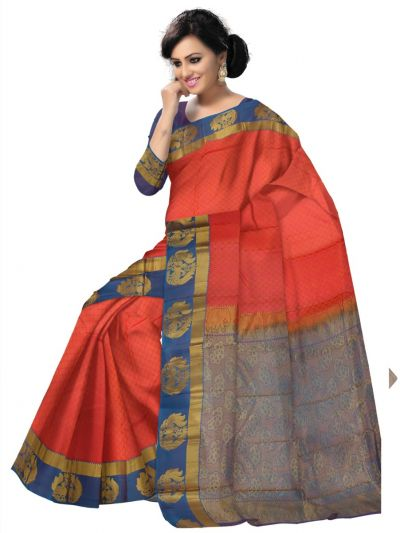 Vipanji Traditional Uppada Silk Saree