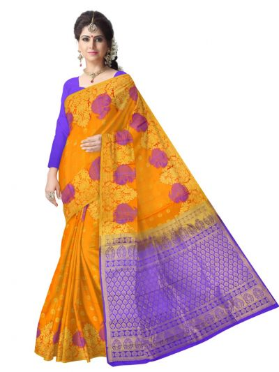Bairavi Traditional Uppada Silk Saree - MAE4318292