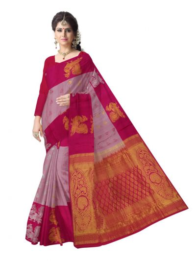 Bairavi Traditional Uppada Silk Saree - MAE4318310