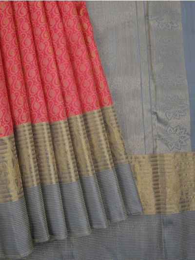 MAE4464721-Vivaha Exclusive Goddess Pure Kanchipuram Silk Saree