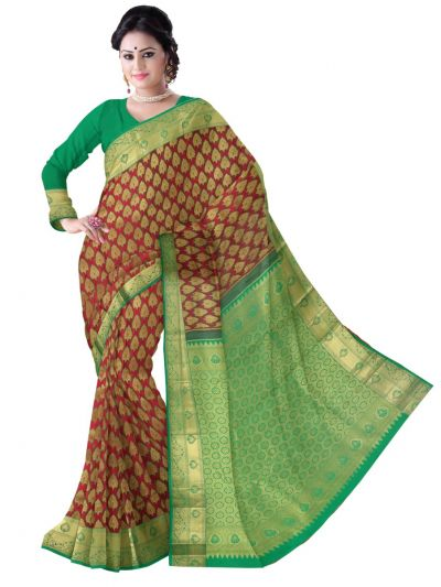 Vivaha Wedding Silk Saree - MBA4726251