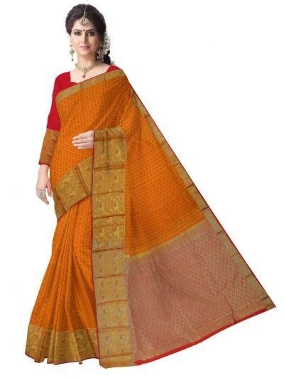 Bairavi Gift Art Silk Saree - MBA4815357