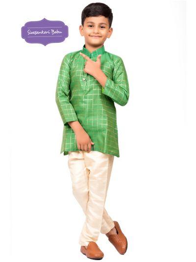 Sivasankari Babu Ethnic Wear Boys Kurta Pyjama Set - MBA4872621