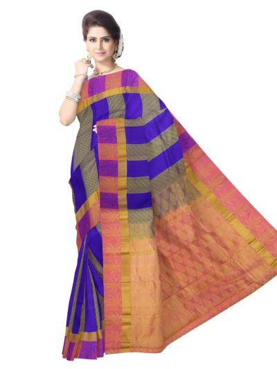 Vipanji Traditional Multicolor Silk Saree