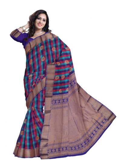 MBA5001685-Bairavi Traditional Uppada Silk Saree