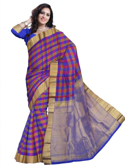Traditional Multi Silk Saree
