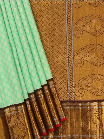 Vivaha Exclusive Goddess Pure Kanchipuram Silk Saree