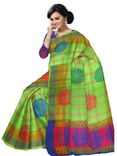 MCA7897540-Kanmanie Soft Silk Saree