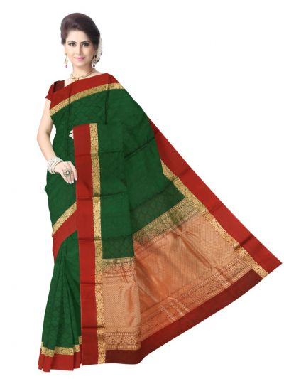 Fancy Kora Silk Cotton Saree