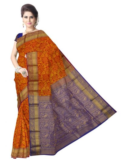 MCA8070526 - Uppada Traditional Silk Saree