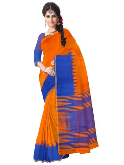 Kyathi Fancy Jute Silk Saree