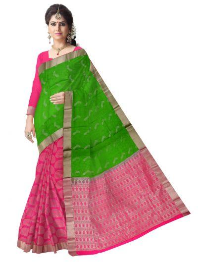 Bairavi Traditional Silk Saree-MCB8596853