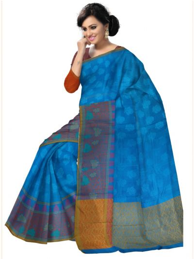 Kyathi Exclusive Dupion Silk Saree