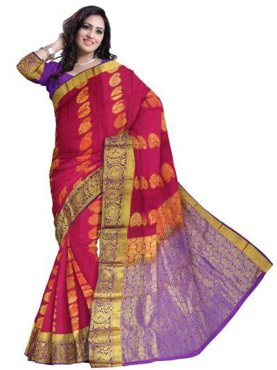 Bairavi Gift Art Silk Saree - MCD0100413
