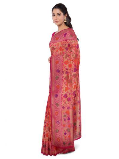 MDB1479538 - Kyathi Handloom Banarasi Silk Saree
