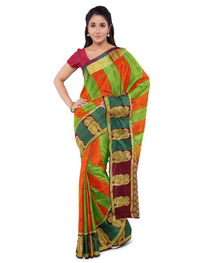 MDC2033386-Fancy Art Silk Saree