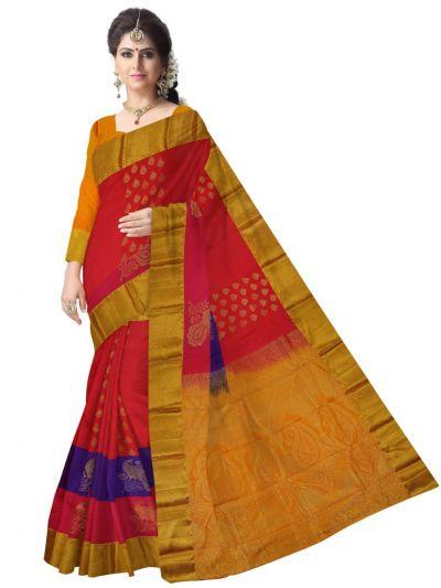 Bairavi Gift Art Silk Saree-MDC2040302