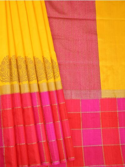 MDD2744690 - Tussar Silk Saree