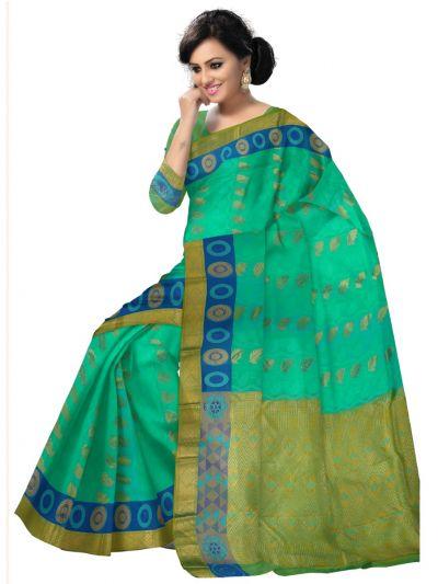Bairavi Gift Art Silk Saree With Stone Work-MDE3338101