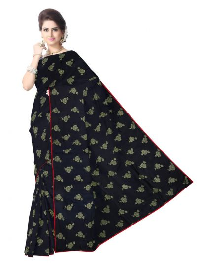 MDE3409087- Kyathi Fancy Designer Saree With Readymade Blouse