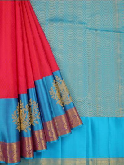 Vivaha Handloom Wedding Silk Saree-MDE3995626