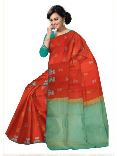 Bairavi Traditional Uppada Silk Saree-MDE4057190