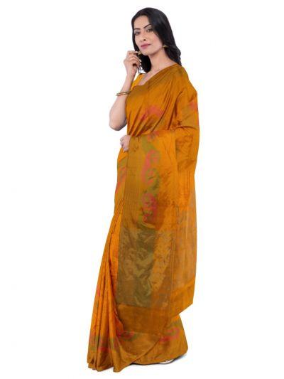 Sahithyam Dupion Tussar Silk Saree - MEA4597550