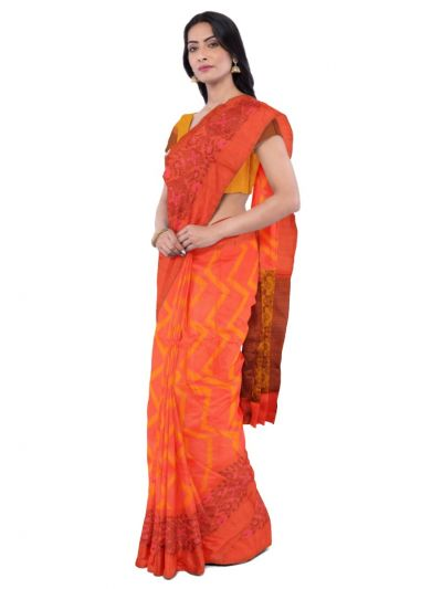 Sahithyam Dupion Tussar Silk Saree - MEA4597551