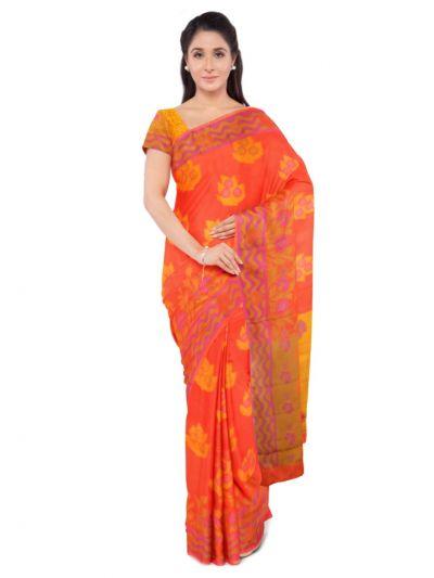 Sahithyam Dupion Tussar Silk Saree - MEA4597553