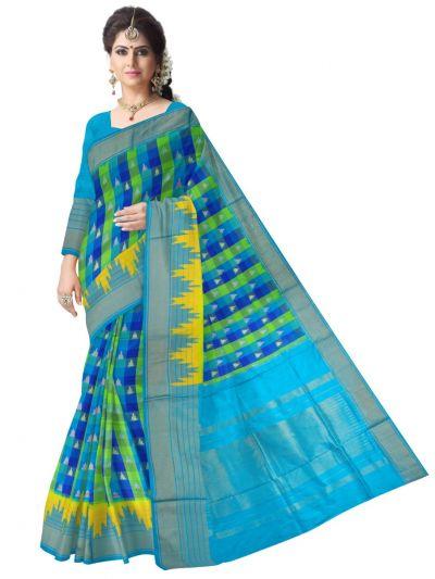 MEB6305413 - Pochampalli Ikat Silk Saree