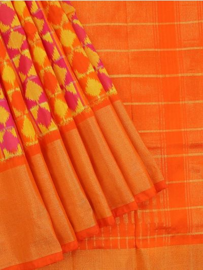 MEB6305415 - Pochampally Ikat Silk Saree