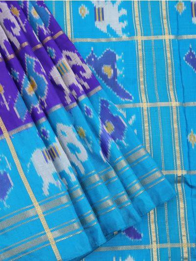 MEB6305416 - Pochampalli Ikat Silk Saree